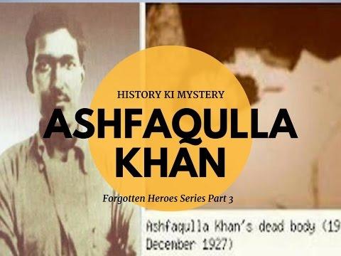 Ashfaqulla Khan Muslim freedom fighter of India Real hero of India  Martyrs of India  Shaheed