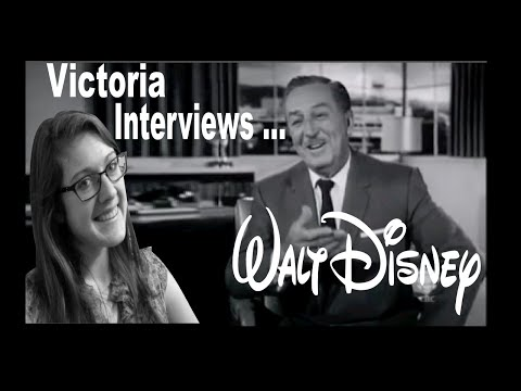 My interview with Walt Disney