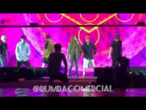 Super Junior 슈퍼주니어 Ft Leslie Grace - Lo Siento (Ensayos, Luna Park) [RumbaComercial Com]