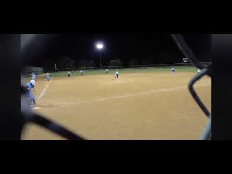 Aliyah Stafford home run to center field