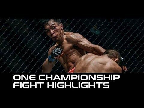 Kevin Belingon Ends Bibiano Fernandes' 8-Year Win Streak (ONE Heart of the Lion Highlights)