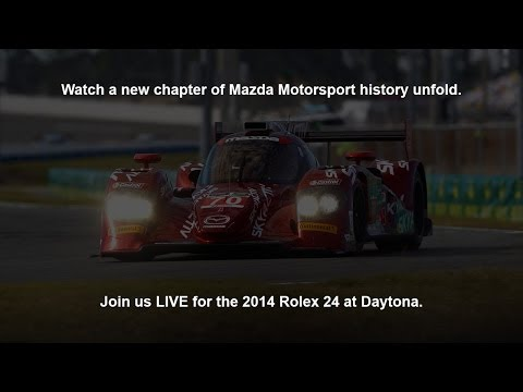 Mazda at the 2014 Rolex 24 at Daytona | Mazda USA