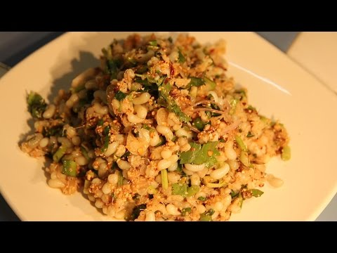 Eating Ant Eggs in Thailand. Raw Ant Egg Salad: A Thai Food Recipe. Eating Insects & Bugs