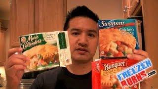 Which Frozen Chicken Pot Pie is Best? Swanson