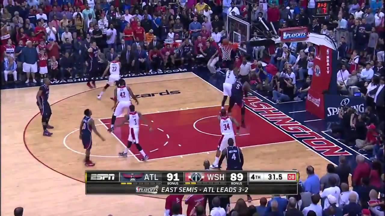 NBA季後賽 2015 5 16 5大精彩好球 - YouTube