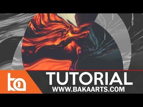 Beginner Photoshop Tutorial in Adobe Photoshop CC   Abstract Album Art -