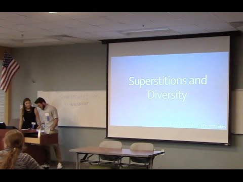 University of North Florida TESOL: Teach Locally, Think Globally Superstitions and Diversity