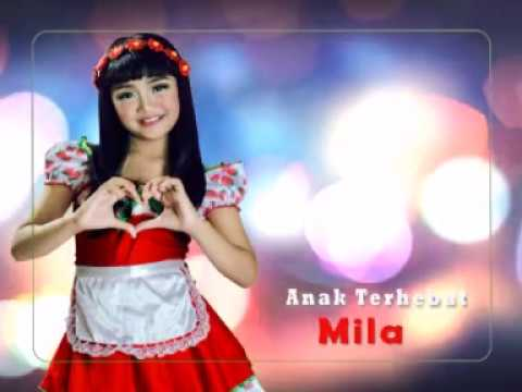 ANAK TERHEBAT-ALBUM THE BEST MILA VOL.4-MARINDA RECORD