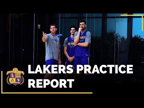 Lakers Practice: Andrew Bogut Impresses & Could Play Big Minutes