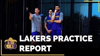 Lakers Practice: Andrew Bogut Impresses & Could Play Big Minutes