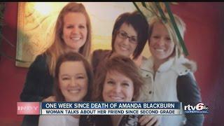 One week since death of Amanda Blackburn