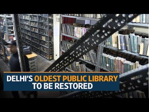 Conserving Delhi's oldest public library