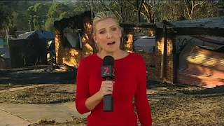 Tathra Bushfires 2018 - Seven News Angie Asimus