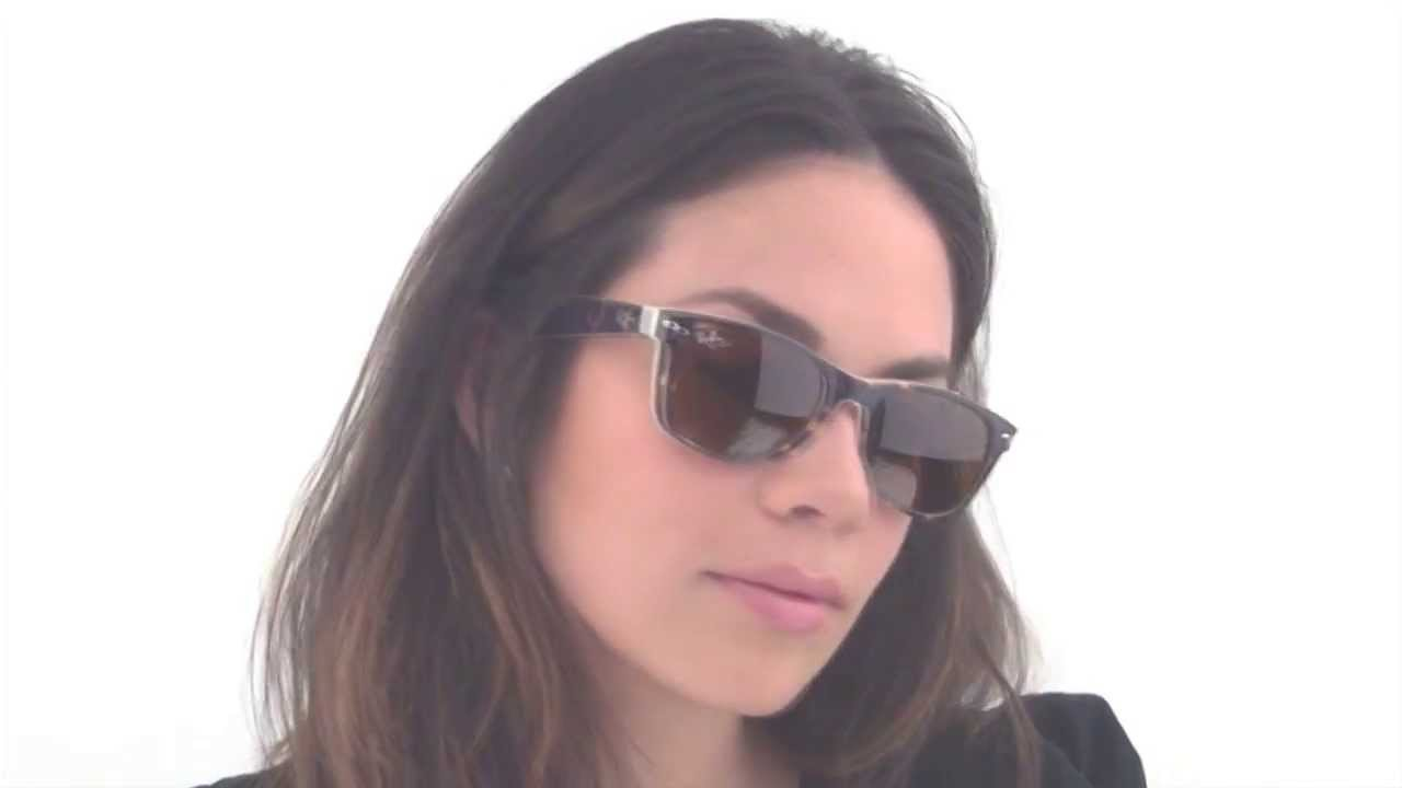 fbc4804995 Ray-Ban RB2132 New Wayfarer 6012 Sunglasses - Vision Direct Reviews ...