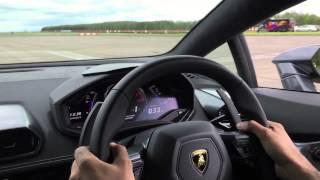 VMAX: 200mph in a Lamborghini Huracan