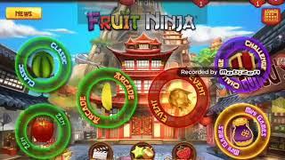 Fruit ninja classic gameplay!☺