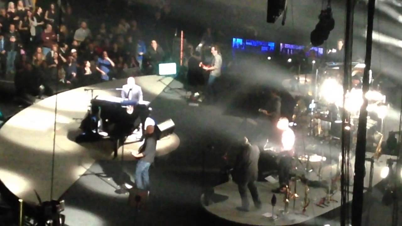 Billy Joel Quot The Stranger Quot Live At Msg 2 18 2015 Youtube