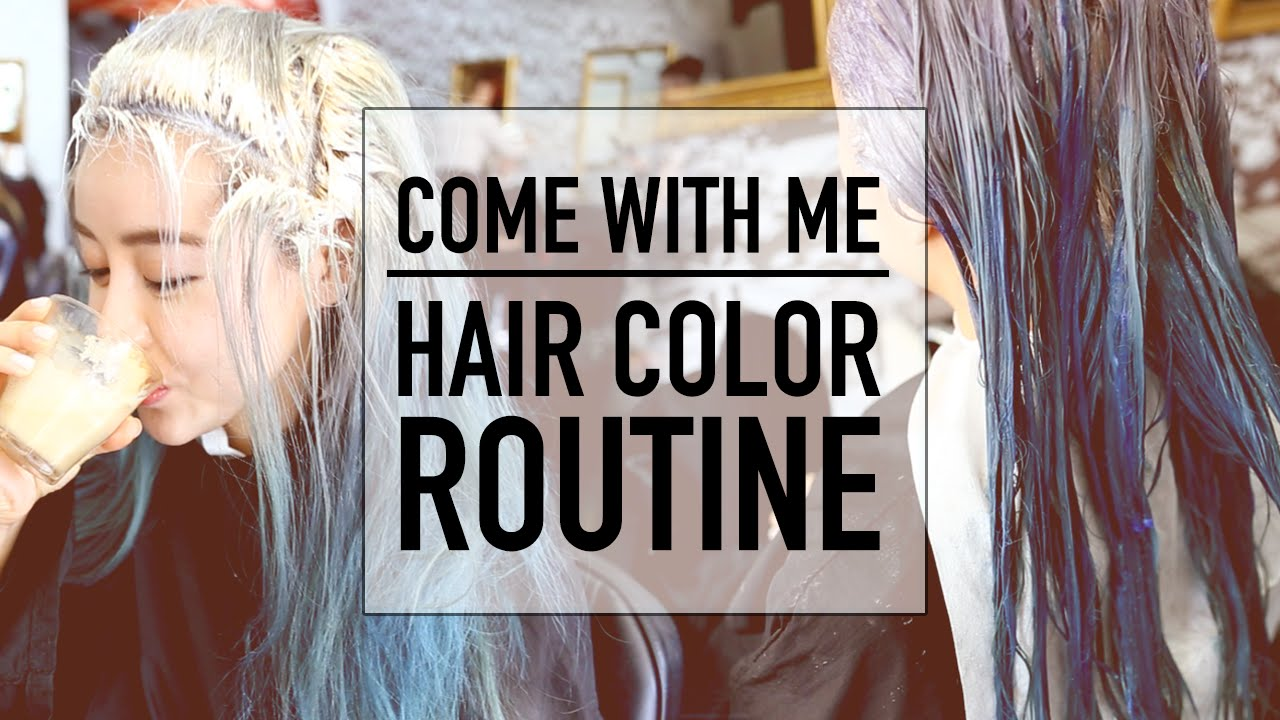 Hair Color Routine Transformation Before And After Ombre Hair