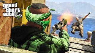 GTA 5 Real Life Thug Mod #30 - SMUGGLERS CARGO HEISTI!! (GTA 5 Mods)