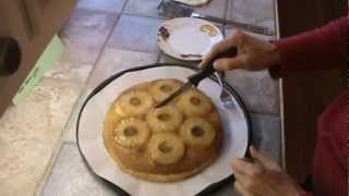 Old Fashion Pineapple Upside Down Cake