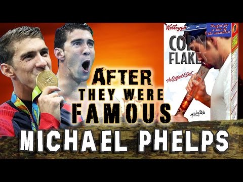 MICHAEL PHELPS - AFTER They Were Famous