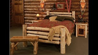 Beds made of wood! 40 ideas! (part 2)