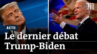 Trump vs Biden : le résumé du dernier débat de la présidentielle américaine 2020