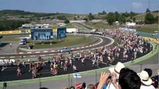 F1 Hungaroring 2012 after finish