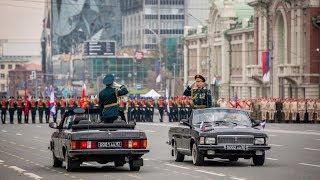 Новосибирск. Парад Победы 2019. Полное видео