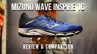 Mizuno Wave Inspire 16 Tech Review | Different Number
