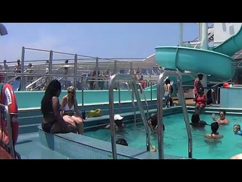 The Carnival Triumph cruise life