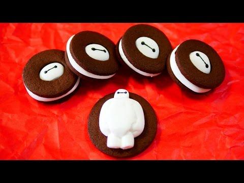Big Hero 6 Baymax Marshmallow Cookie Recipe ベイマックス マシュマロ ココア クッキー