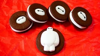 Big Hero 6 Baymax Marshmallow Cocoa Cookie Recipe