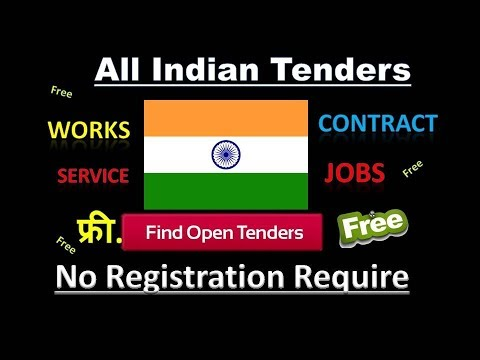 Indian Government Tenders    PSU Company    All Works & Contracts