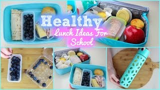 One of misscharlottebeauty1's most viewed videos: Healthy and Easy Lunch Ideas For School 2015!