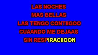 Karaoke Sin respiracion - Banda El Recodo