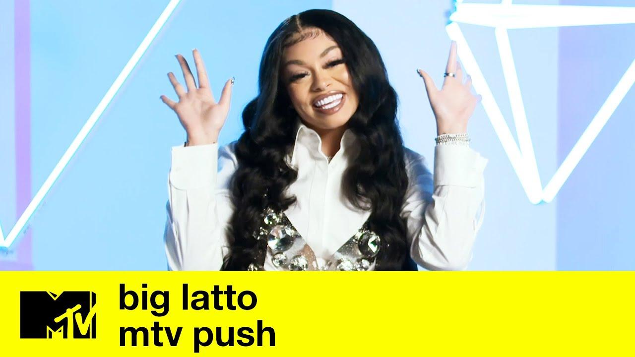 Big Latto's Nicki Minaj & Cardi B Connection   MTV Push