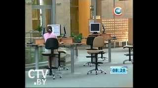 CTV.BY: Экскурсия по Национальной библиотеке Беларуси