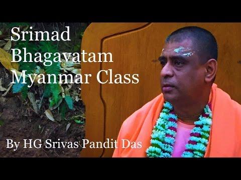 Srimad bhagavatam 9.5.27 Myanmar Class @ iskcon myanmar