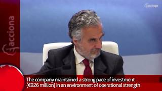 Video summary ACCIONA in 1 minute - November 2018