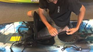Tutorial: Installing Clip-In Deluxe Kayak Seat onto a Vibe Kayaks Skipjack 90
