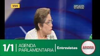 Entrevista RPP Marzo: Pdta Luz Salgado