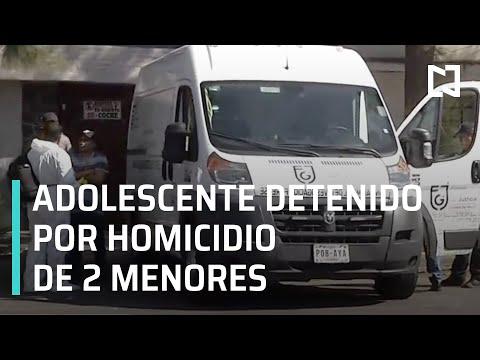 Adolescente detenido por el asesinato de dos menores - Las Noticias