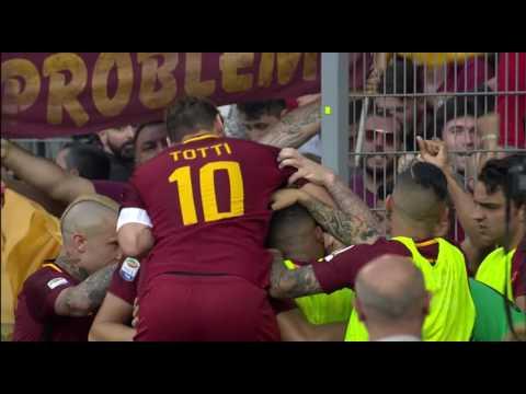 Il gol di De Rossi - Roma - Genoa - 3-2 - Giornata 38 - Serie A TIM 2016/17