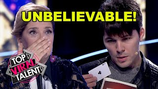 5 UNBELIEVABLE MAGICIAN AUDITIONS That Will BLOW YOUR MIND!