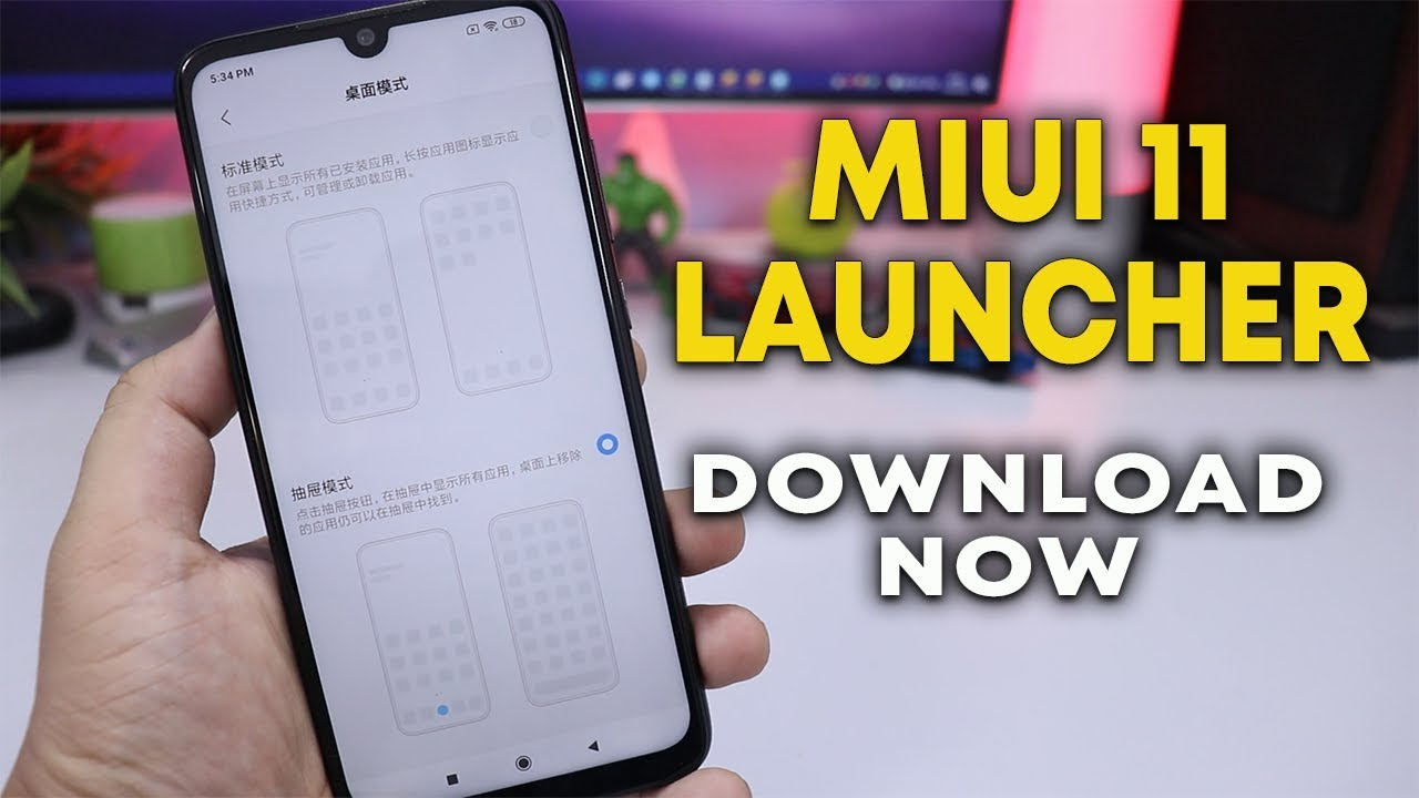 Download MIUI 11 LAUNCHER | New App Drawer, Recent Apps Feature | Hindi