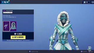 "Fortnite *NEW* ""SNOWSTRIKE"" Skin! (Item Shop - 08/02/2019)"