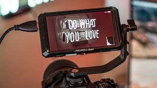 The Best Camera Monitor for UNDER $200 | FeelWorld Master 5