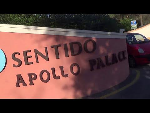 'Sentido Apollo Palace' Hotel, Kato Messonghi Corfu 'Άποψη -View of Area before & main Entrance .! thumbnail