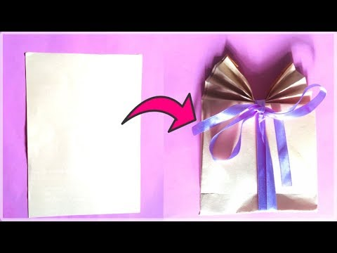 How To Make DIY Paper Gift Bag | You Can DIY | Decoration Ideas